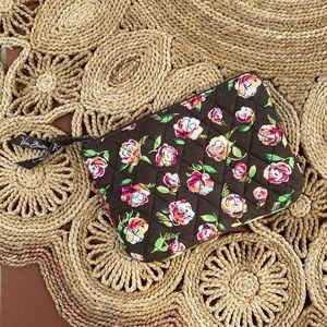 Vera Bradley Quilted Floral Coin Pouch